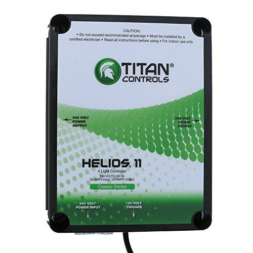 Titan Controls 4-Light Controller w/ Trigger Cord, 240V - Helios 11