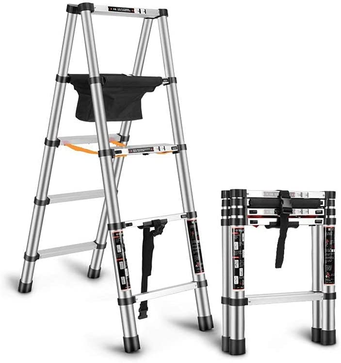 Telescopic Herringbone Ladder Lifting L Alloy 2021 Aluminum New product!! Technique
