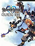 Kingdom Hearts Coloring Book: A Wonderful Video Game Franchise | Coloring Book for Kids and Adults