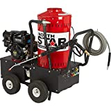 NorthStar Gas Wet Steam and Hot Water Pressure Washer - 2700 PSI, 2.5...