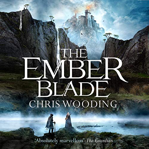 The Ember Blade audiobook cover art