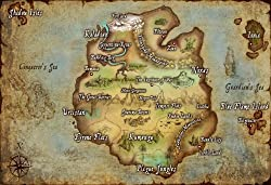 The best gifts for all league of legends fans - Valoran map print