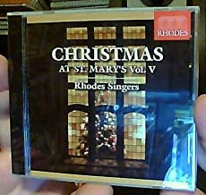 Christmas at St. Mary's Volume V - Rhodes Singers [CD] (Recorded Live December 6, 2005 at St. Mary's Cathedral, Memphis, Tennessee)
