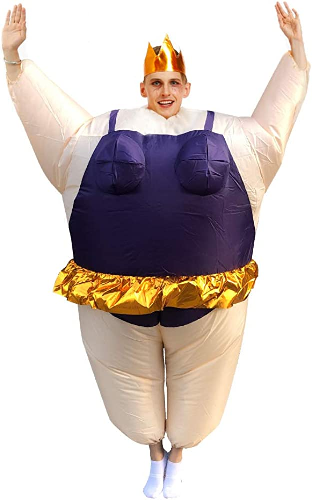 Inflatable Costume Mail order Ballet Quantity limited Sumo Adult Hallowee Funny up Suit Blow