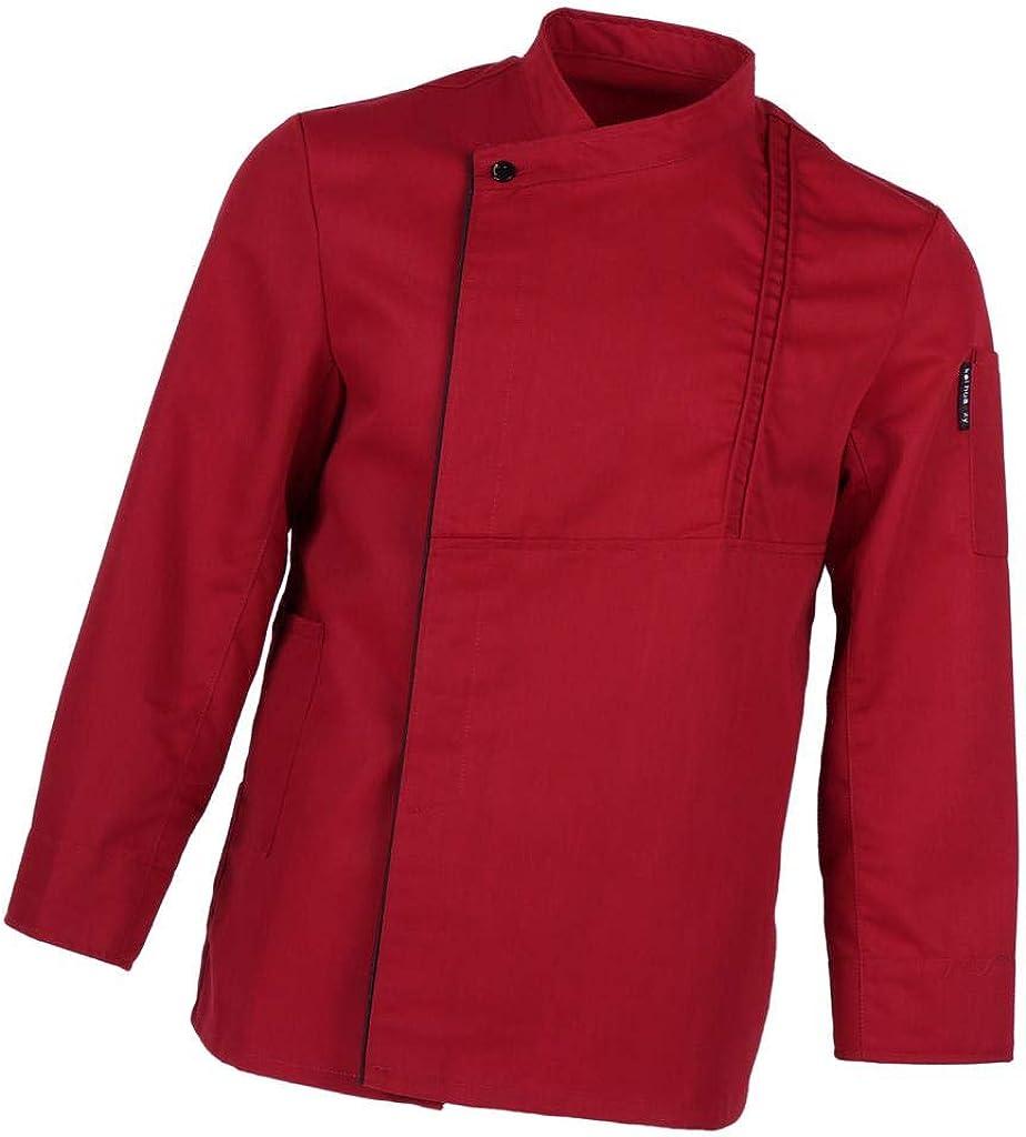 menolana Men Women Save money Five High quality new Star Chef Ex Long Fashion Sleeve Apparel