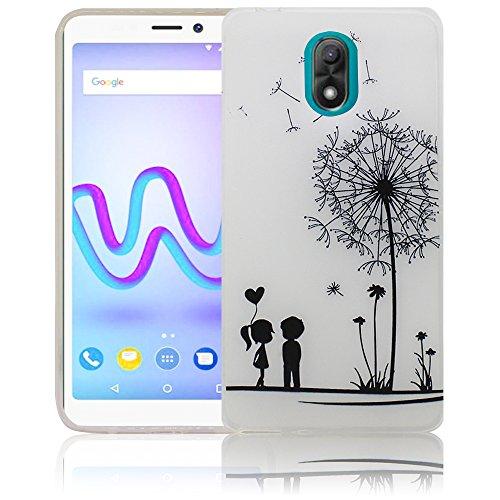 Wiko Lenny 5 Passend Pusteblume Handy-Hülle Silikon - staubdicht, stoßfest & leicht - Smartphone-Case