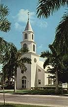 Trinity-By-The-Cove Episcopal Church, Port Royal Naples, Florida Original Vintage Postcard