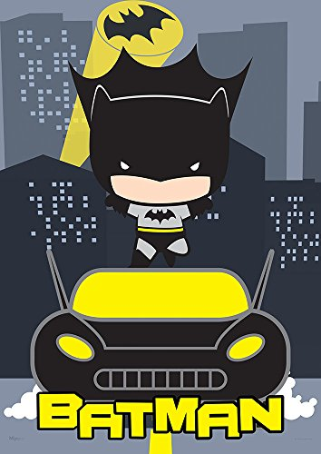 MightyPrint DC Comics Justice League (Chibi Batman) Wall Art Next Generation Premium Print