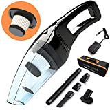 Attom Tech Cordless Handheld Vacuum Cleaner Rechargeable 120W Strong...