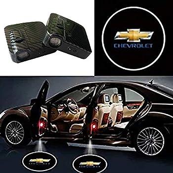 SOONDAR Car Door Lights for Chevrolet Upgraded Universal Sensor Car Door Led Logo Projector Light  2PCS