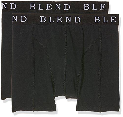 Blend Herren Boxershorts Underwear, 2er Pack, Schwarz (Black 70155), XX-Large