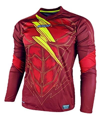 Rinat Bolt Soccer Goalkeeper Long Sleeve Jersey (X-Large)