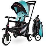 smarTrike STR5 Folding Toddler Tricycle for 1,2,3 Year Old with Customized Embroidery - 7 in 1...