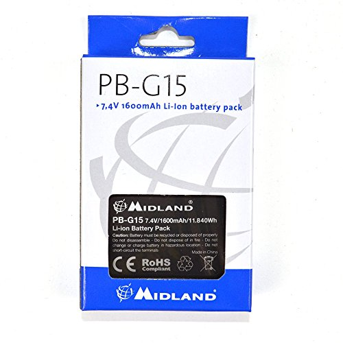 Midland C1128 PB-G15 Li-Ion 1600 mAh Batterie