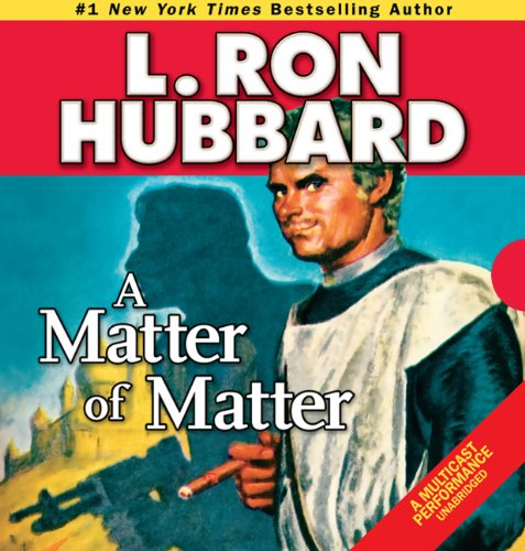A Matter of Matter audiobook cover art