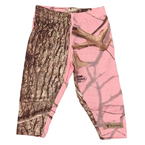 Kings Camo Toddler Legging Woodland Pink, Size: 4t (Kct902-Wp-4t)