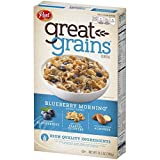 Post Great Grains Blueberry Morning Cereal, 13.5 oz (Pack of 6)