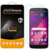 (2 Pack) Supershieldz for BLU View Mega Tempered Glass Screen Protector, Anti Scratch, Bubble Free
