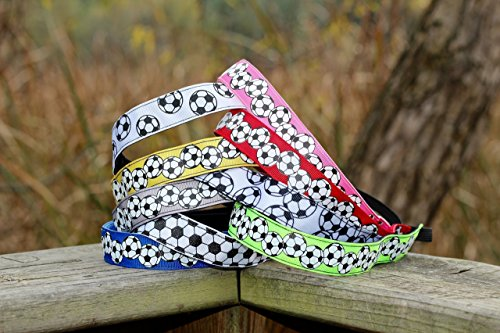 Soccer Headbands for Girls, Choice of Size and Color, Girls Soccer Headbands No Slip Kid