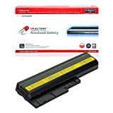 DR. BATTERY ThinkPad R60 Battery Compatible with IBM ThinkPad R61E T60 T60P T500 W500 SL500 SL400 SL300 42T5246 92P1141 92P1141 92P1137 92p1128 92p1130 92p1141[10.8V/4400mAh/48Wh]