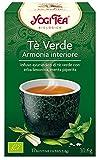 Yogi Tea Infusión de Hierbas Te Verde - 17 bolsitas
