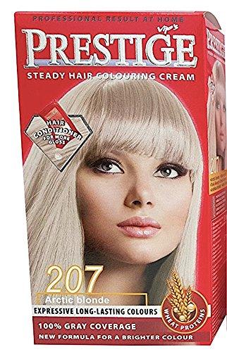 Vips Prestige Coloration Permanente pour Cheveux à l'huile d'argan, de macadamia et de chia 207 Arctique Blond