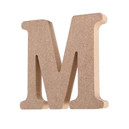Decorativo De madera Letras