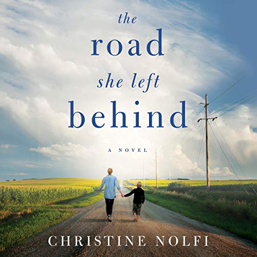The Road She Left Behind audiobook cover art