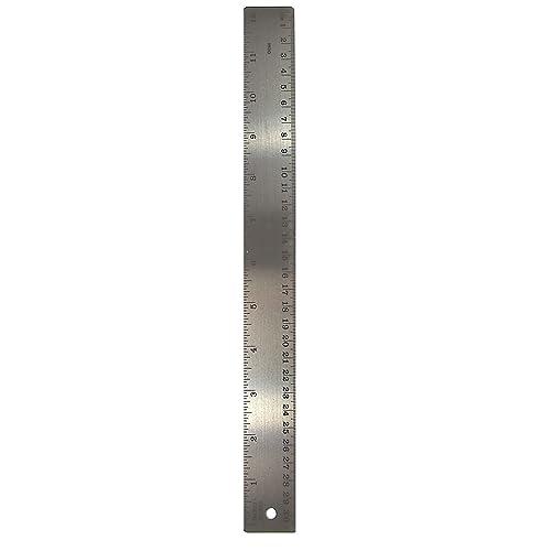 Metal Ruler 18-Cork Back