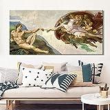 SIRIUSART Poster Kunstdrucke Sixtinische Kapelle