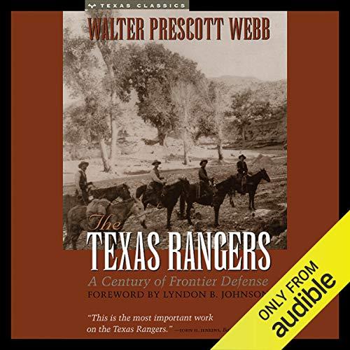 The Texas Rangers audiobook cover art