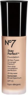 Boots No7 Stay Perfect Foundation (Cool Vanilla) by Boots