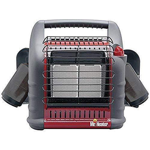 Mr. Heater Corporation MH18B Portable Propane Heater, Red