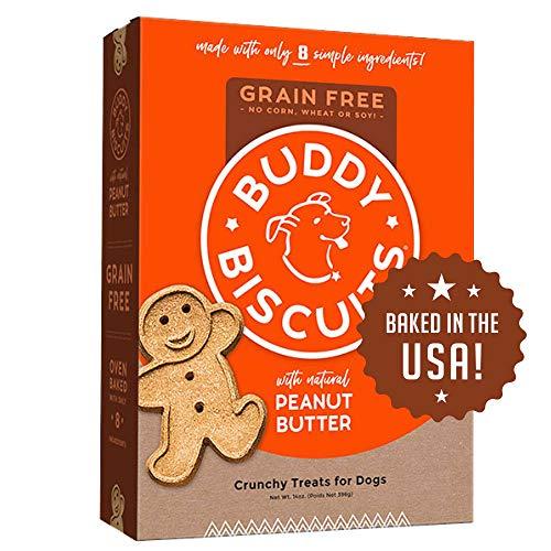 Cloud Star - Biscuits Chien sans céréales cuit au Four Beurre cacahuète 196 g