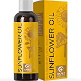 Sunflower Oil for Hair Skin and Nails - Anti Aging Skin Care with Vitamin E Oil for Skin and Hair...