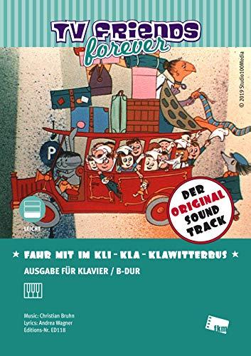 Fahr mit im Kli-Kla-Klawitterbus: Title song of the TV series