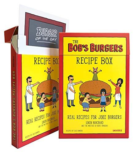 The Bob's Burgers Recipe Box: Real Recipes for Joke Burgers