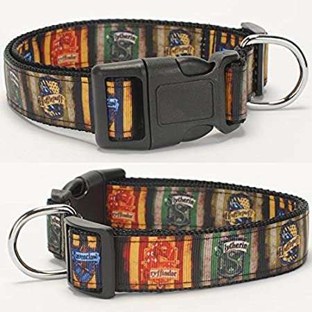3 Buckle Choices Harry Potter Dog Collar I Solomnly Swear Matching Leash Available Reflective Dog Collar- Up to No Good