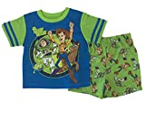 Toy Story Little Boys Toddler Pajama Set (5/5T) Green
