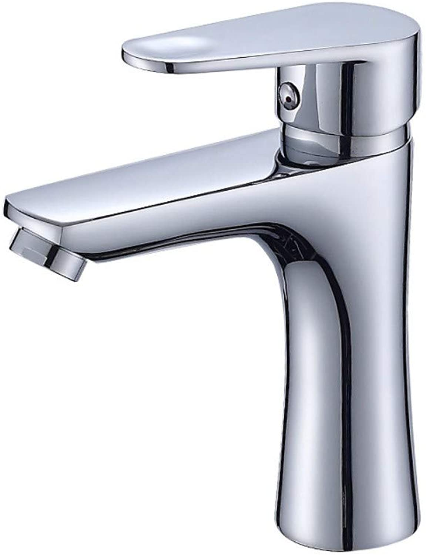 Bathroom Washbasin Copper Hot and Cold Faucet Bathroom Vanity Basin Classic Mixer Faucet