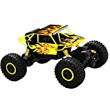 Top Race Rastreador de Monster Truck RC Control Remoto, Transmisor de 2.4GHz, 4WD Off Road RC Car - TR-130Y
