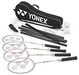 YONEX 4Player Beach & Garden Set de Badminton avec Sac de Transport