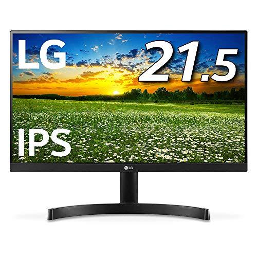 LG モニター ディスプレイ 22MK600M-B 21.5インチ/フルHD/IPS 非光沢/フレームレス/HDMI×2/ブルーライト低減機能/FreeSync・DASモード搭載