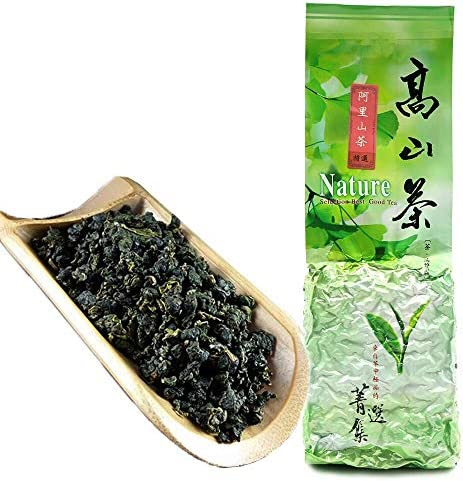 FullChea Natural Alishan Oolong Tea Loose Leaf Formosa Oolong High Mountain Tea Taiwan Gaoshan product image