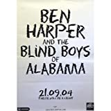 Poster rolled Ben Harper Design: There will be a light. Original Promoposter with easy bends.