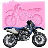 DACCU 3D Yamaha Motorrad Silikonformen Baby Geburtstag Fondant Kuchen Dekorieren Tools DIY Back...