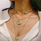 Collares Colgante Joyas Modyle, Collar De Cadena De Perlas Simuladas Irregulares Vintage, Collares De Color Dorado para Mujeres, Joyería Punk-43684