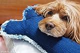 犬 デニム クッション あごのせ オシャレ かわいい S