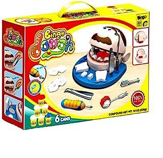Bingo Dough Dentist Machine Set, 6 Colors