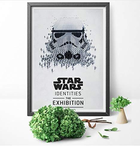 yuyu-beautiful Star Wars Identities Ausstellung Rolle Print Art Poster Leinwand Malerei Poster Und Druck Wandkunst Home Decor 50x70Cm Ungerahmt